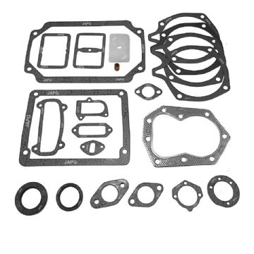 Engine Gasket & Oil Seal Set, Howard Gem, Kohler K301T, Intake, Head, Valve, Sump, Breather, Exhaust